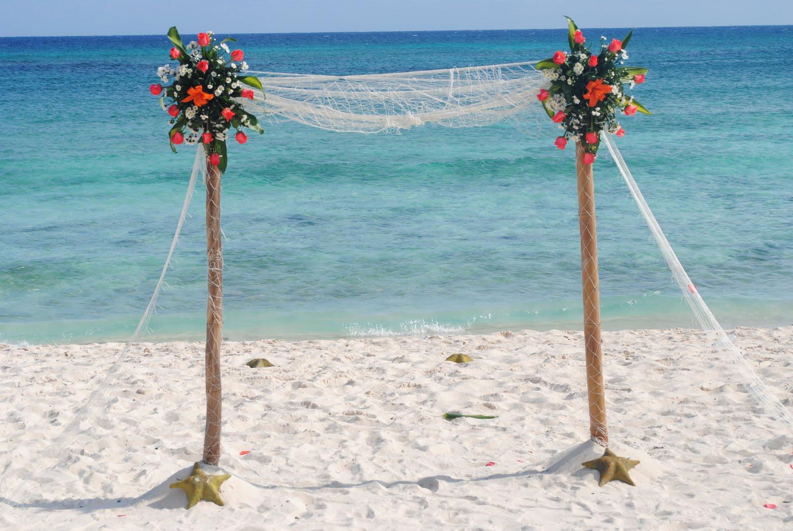 DAY TIME BEACH WEDDING