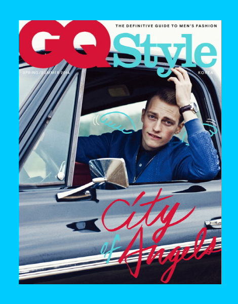 Victor Nylander covers GQ Style Korea SS14