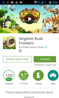 Game yang bisa di RefundAndroid di Google Play Store