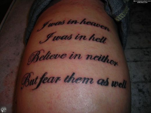 Tattoo quotes for lost loved ones