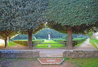 Horti Leonini gardens in San Quirico d'Orcia, Italy