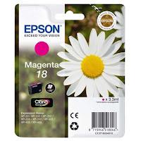 Cartucho Epson T1803 tinta magenta