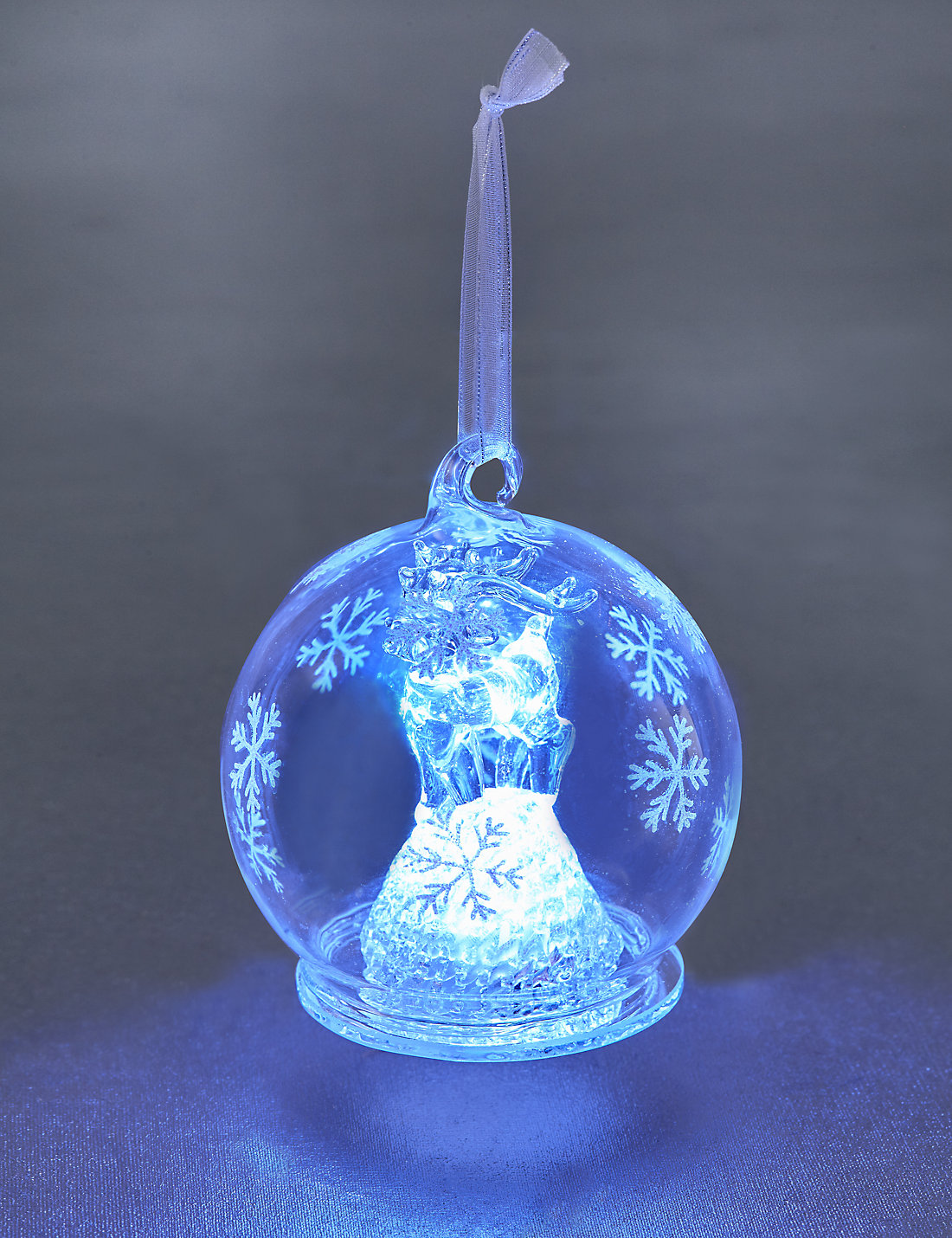 G Led Glass Baubles