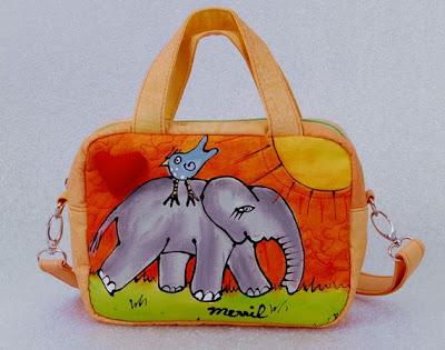 Elefántos táskák