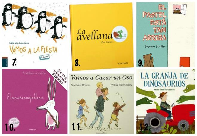 mejores libros infantiles 0-3 anos