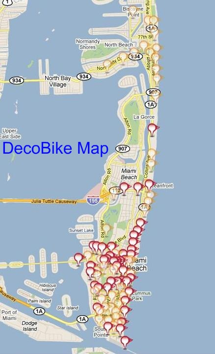The Bikesharing Blog DecoBike a concession to the Art Deco of