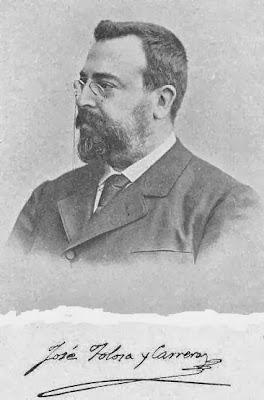 Dr José Tolosa y Carreras en 1895