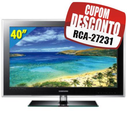 Cupom Efácil - TV 40 LCD Full HD LN40D550 Samsung