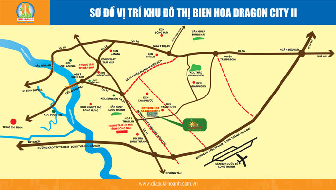 bien hoa dragon city, khu do thi bien hoa dragon city