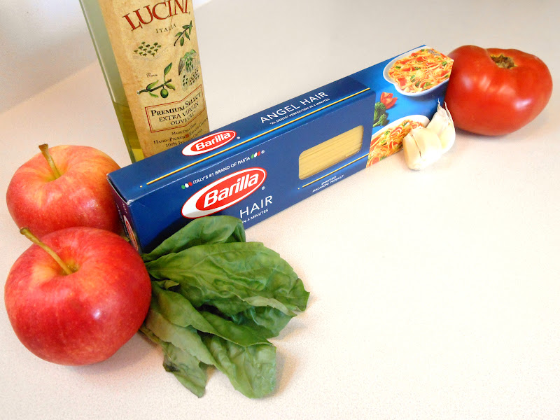 My Kind Of Cooking Apples Angel Hair Pasta