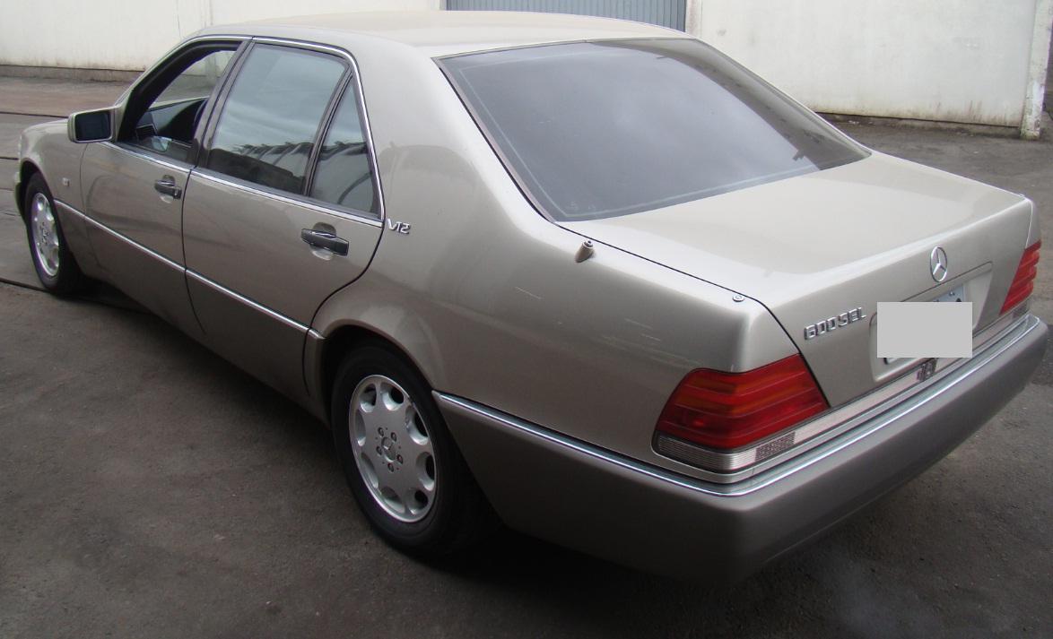 W140 SEL 600 V12 1992 - R$ 50.000,00 Traseira