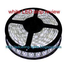 white LED strip review