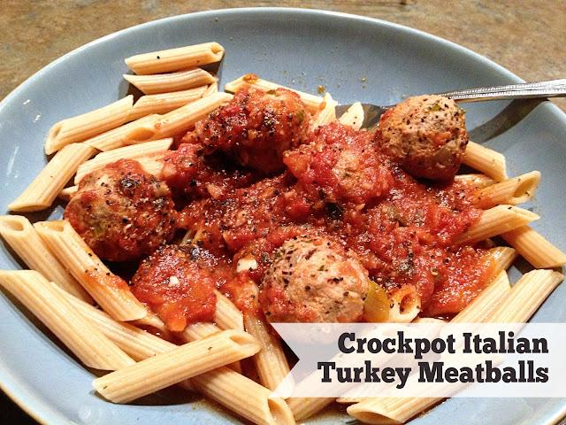 What happened next...: Crockpot Italian Turkey Meatballs