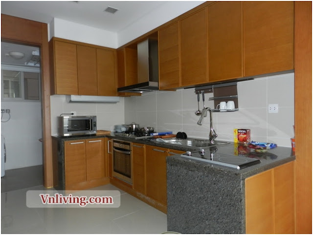 Luxury apartment for rent in Xi Riverview Palace 3 bedrooms furnished