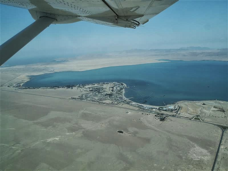 Paracas desde el aire