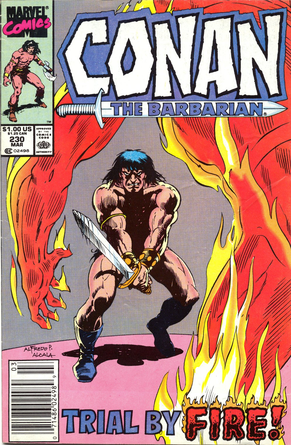 Conan the Barbarian (1970) Issue #230 #242 - English 1
