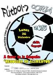 5ª CONVIVENCIA FUTBOL-7 RECOGIDA DE ALIMENTOS CÁRITAS