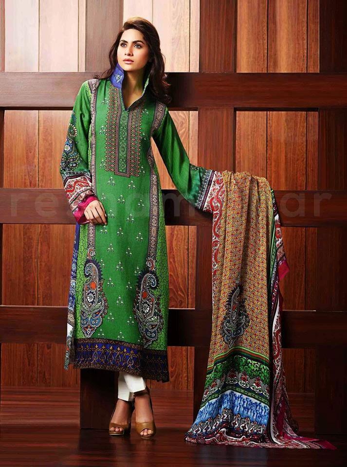 Resham Ghar Latest Winter Wear Collection 2015 For Women