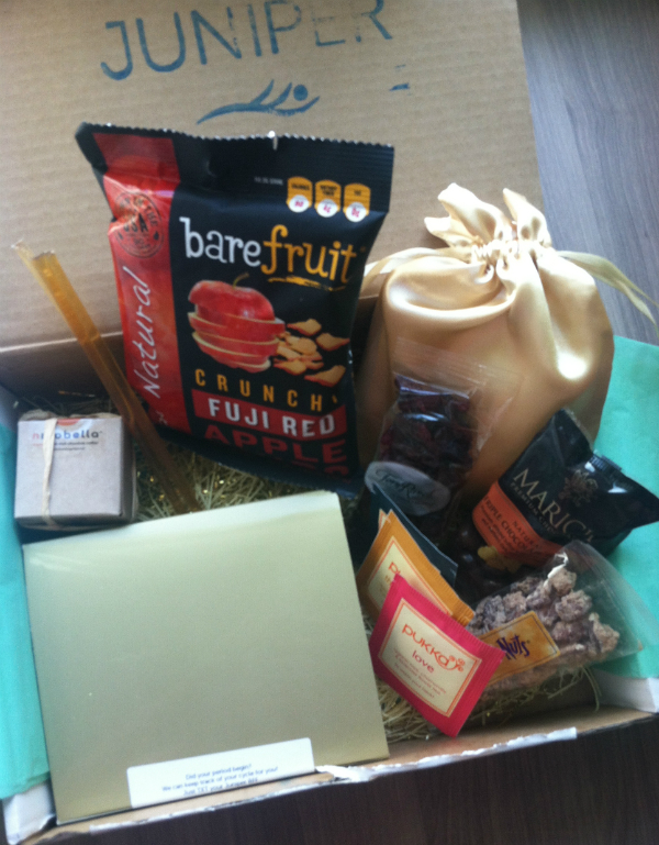 Juniper Box - Novermber 2012 Review - Women's Monthly Subscription Boxes