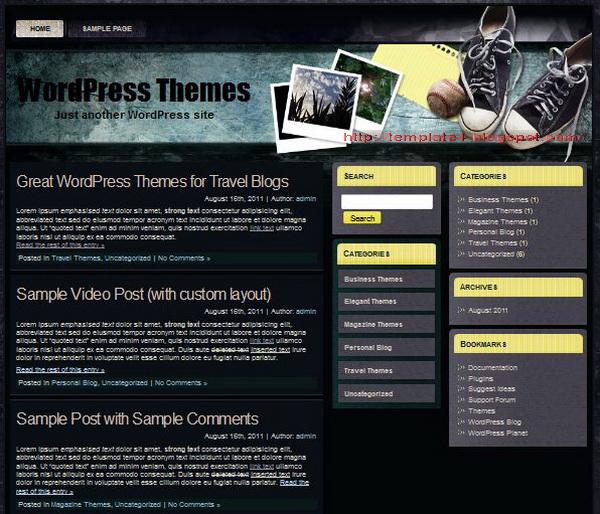 HaiHui WordPress Theme