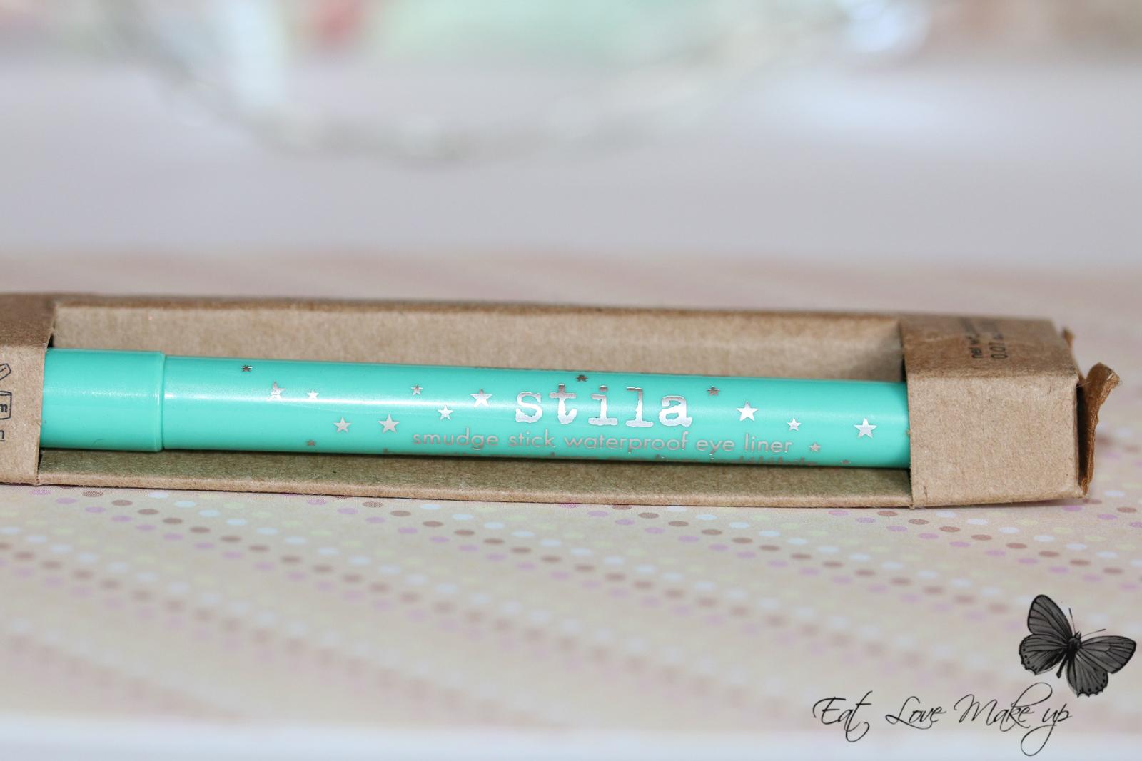 Stila Smudge Stick Waterproof Turquoise Eye Liner