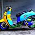 Kumpulan Gambar Modifikasi Motor Matic Keren Terbaru