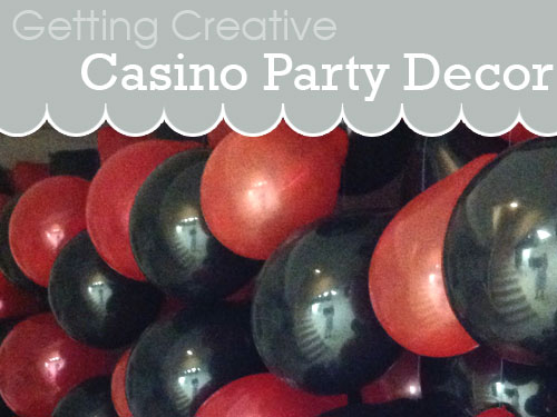 decor for casino party