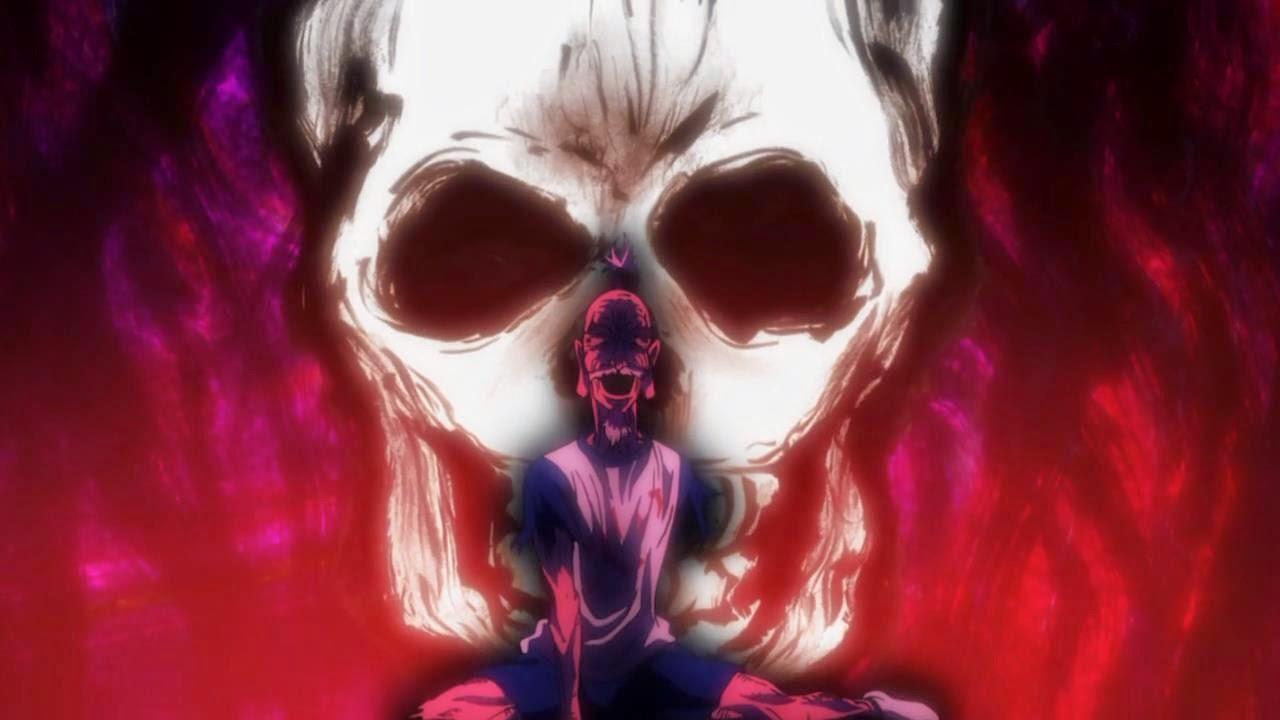 Netero's final moments, Netero's death, Hunter x Hunter, Chimera Ant Arc, Miniature rose