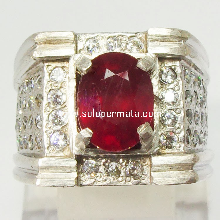 Batu Permata Ruby Pigeon Blood - 30A08