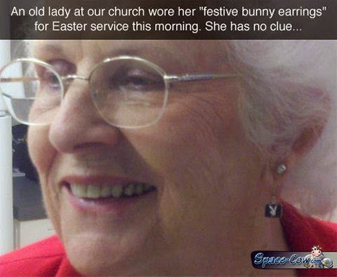 funny people earrings picture