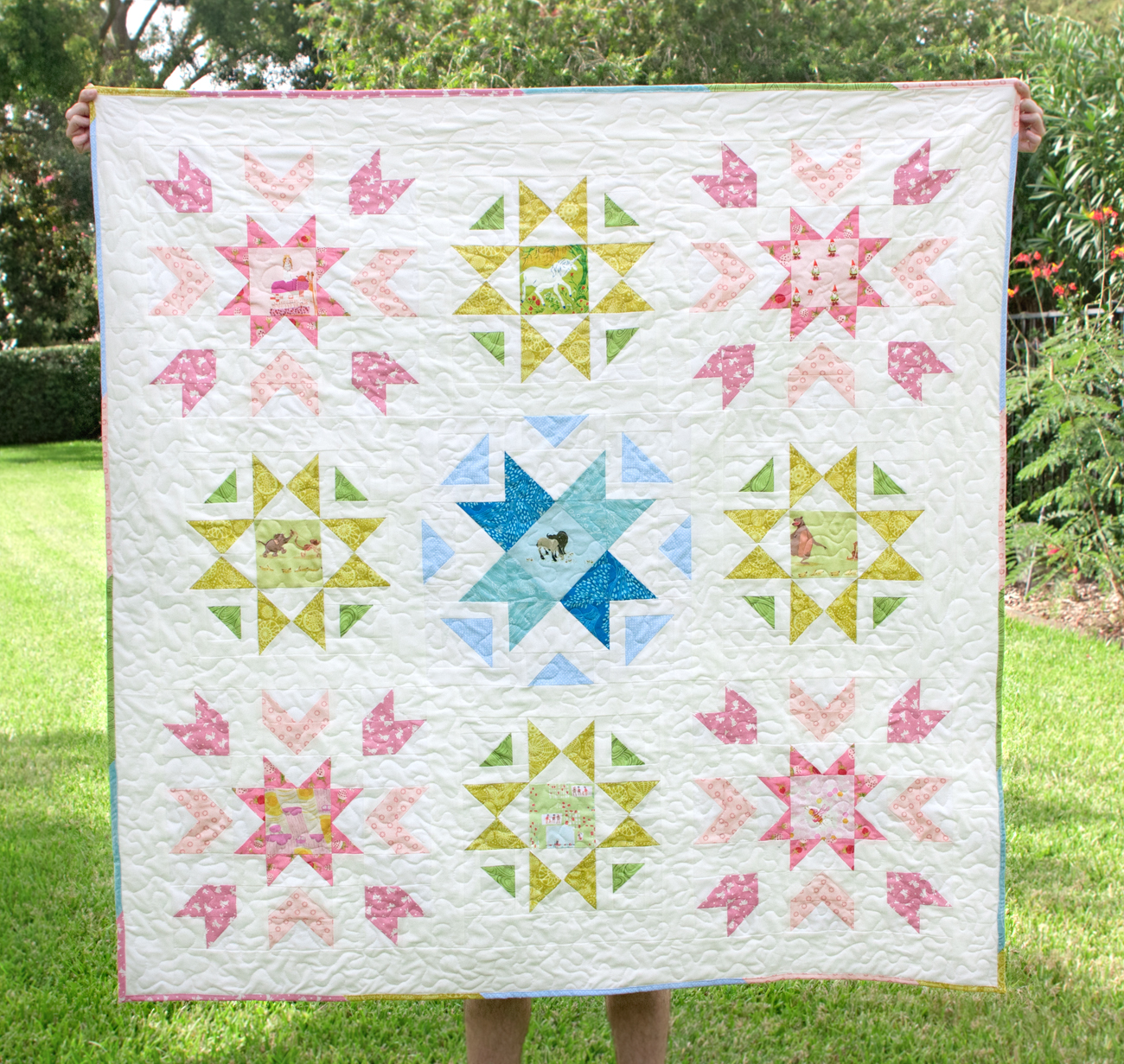 starfield quilt pattern