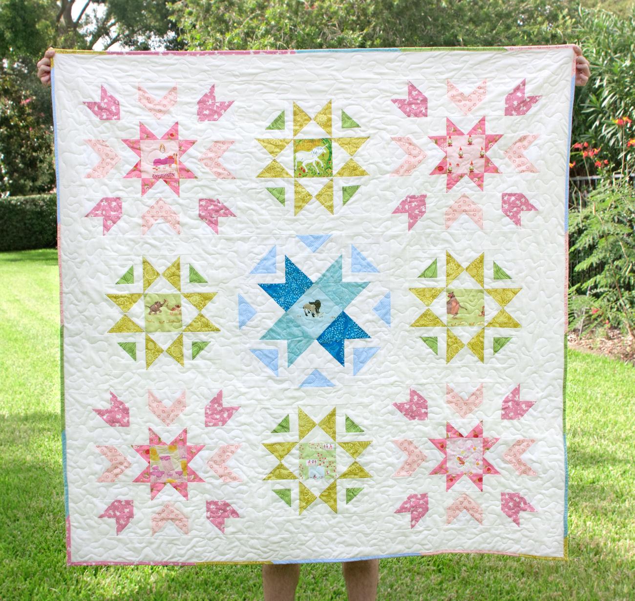 starfield quilt pattern