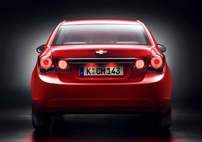 2011-Chevrolet-Cruze-Rear-View-Red-Color