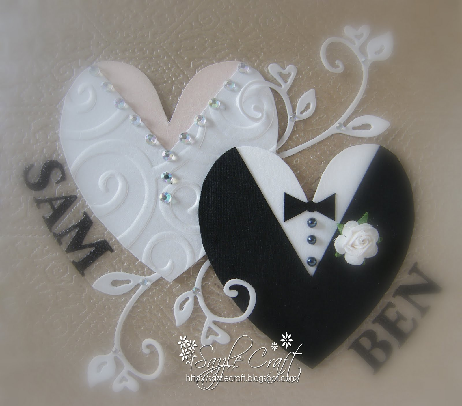 Sazzle Craft: Wedding With Bling