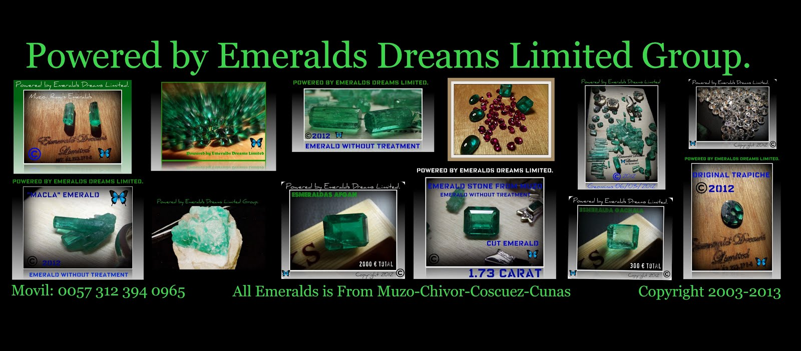 Emeralds Dreams Limited.