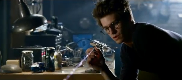 The Amazing Spider-Man 2012 Andrew Garfield as Peter Parker aka Spider-Man