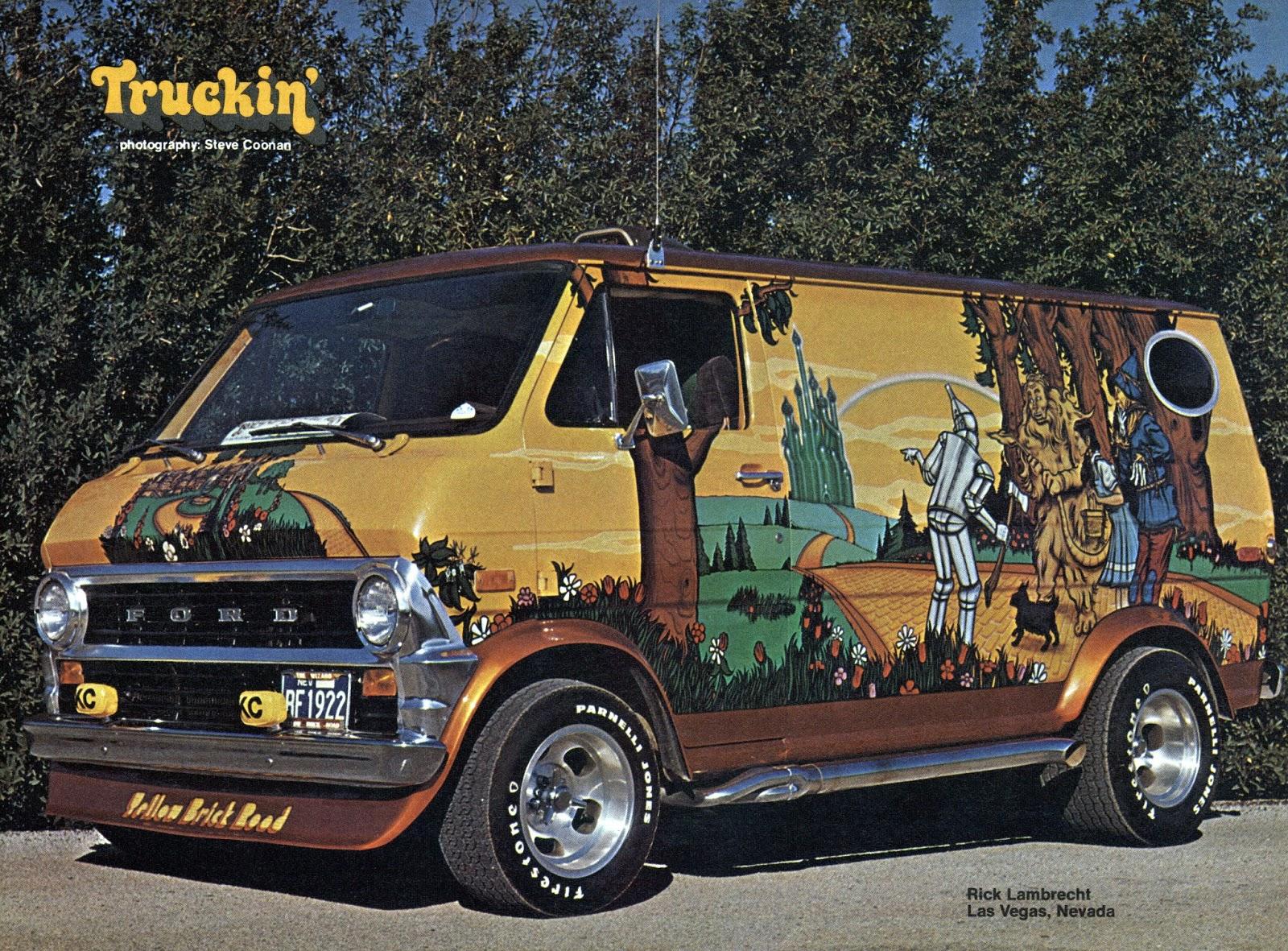 Vintage Disneyland Tickets Truckin Magazine May 1977