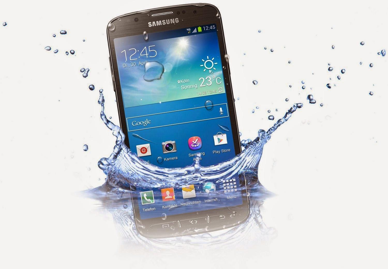 Daftar Handphone android anti air atau waterproof terbaru