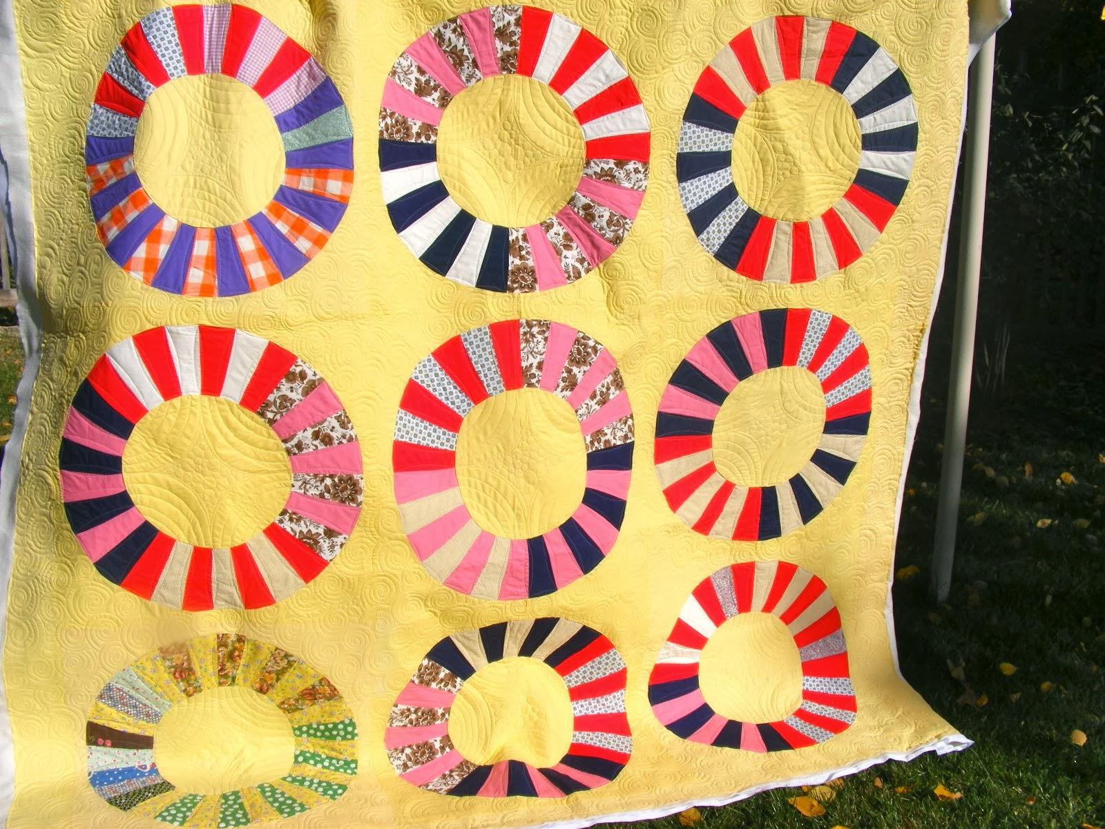 TIA CURTIS QUILTS: Leia's Wagon Wheel quilt : wagon wheel quilt - Adamdwight.com