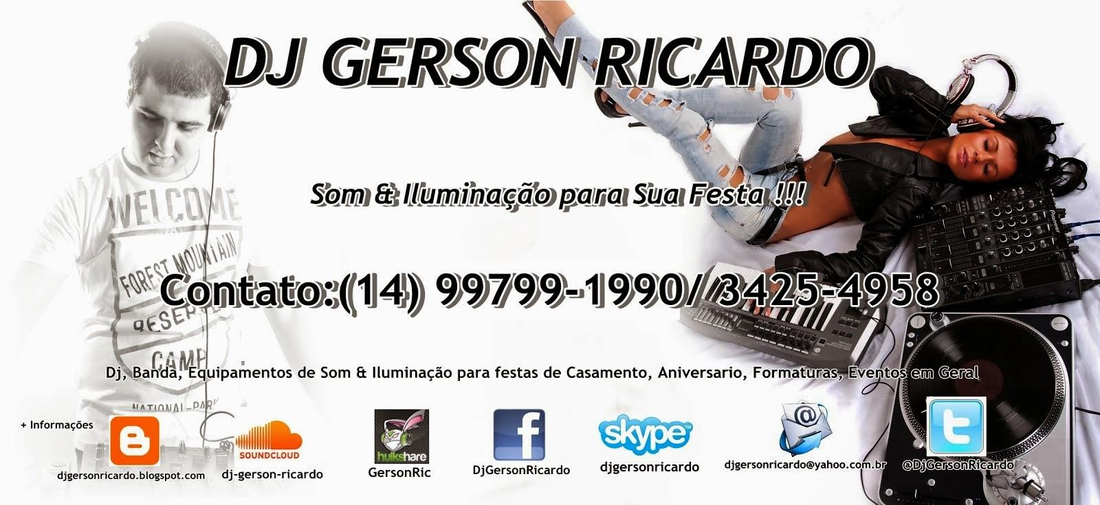 DJ, Banda, Som & Iluminação para Sua Festa AQUI! Contato: (14) 99799-1990 e/ou (14) 3425-4958;