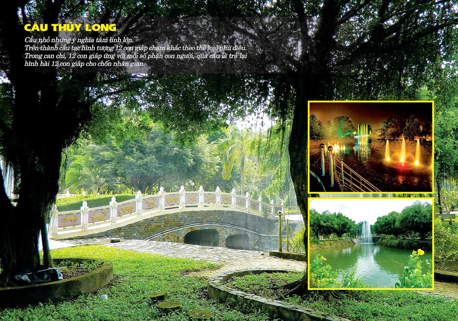 Cầu Thủy Long tại Hoa Viên Nghĩa Trang Bình Dương