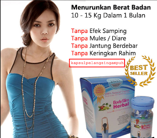body slim herbal asli dan palsu