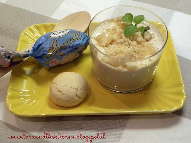 dessert veloce amaretti e caffe'