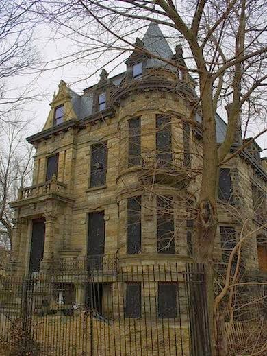 The cheap adventurer real haunted houses in america for Building a home in ohio