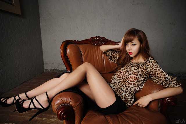 1 Seo Jin Ah - Sexy Leopard-Very cute asian girl - girlcute4u.blogspot.com
