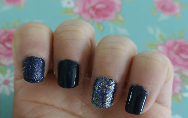 nails inc bling it on swatch
