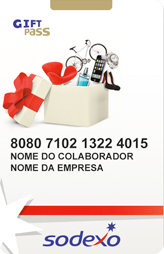 Gift Pass Sodexo