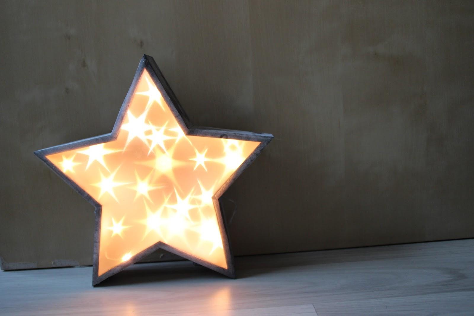 ohne kreativit t ohne mich wie man einen leuchtstern bastelt diy led stern mit sterneneffektfolie. Black Bedroom Furniture Sets. Home Design Ideas
