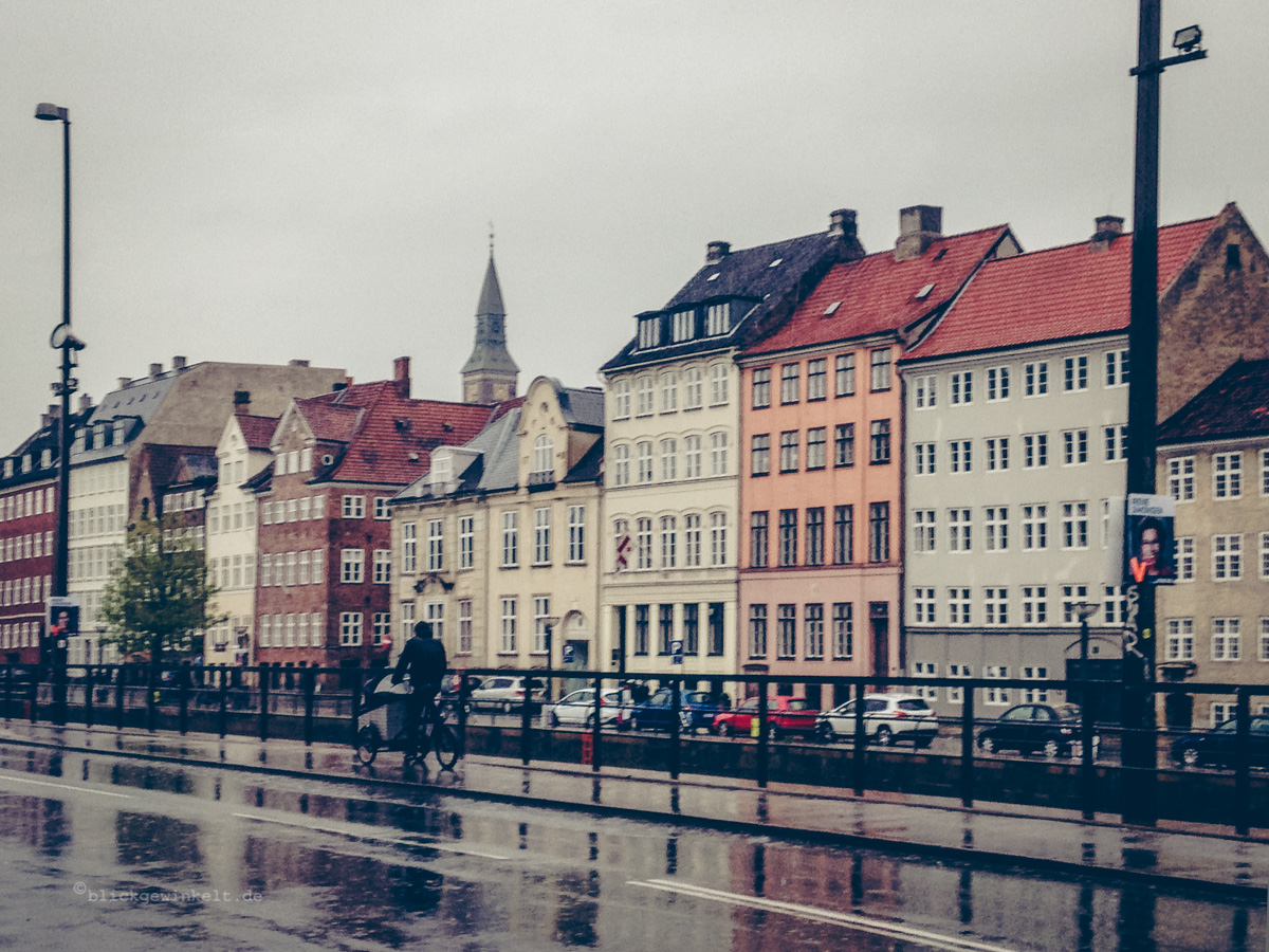 Kopenhagen im Regen