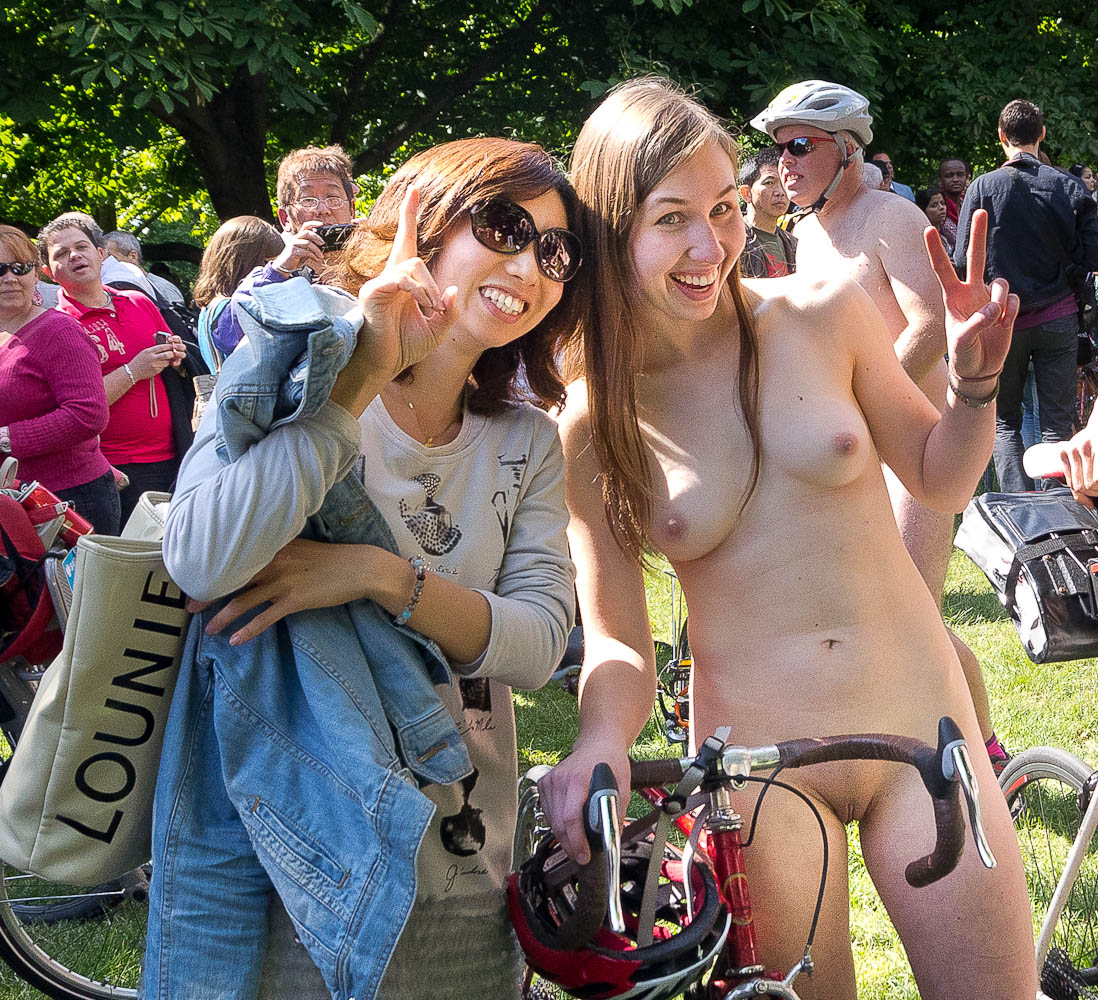 Remarkable naked bike ride nude all clear